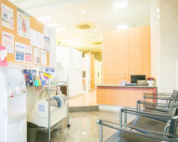 ささゆき歯科クリニック 受付・待合室